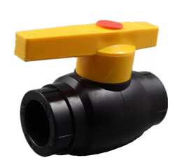 HDPE Ball Valve With Steel Core