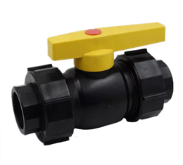 HDPE Double union Ball Valve