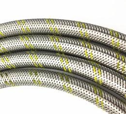 Stainless Steel Wire Braided Gas LPG Hose