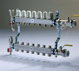 Stainless Steel Manifold for Floor Heating